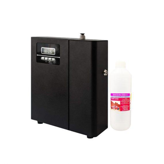 Aparat profesional de odorizare Turbo Clean, Negru + Esenta, Rezerva, Refill 500 ml la alegere, inclusa