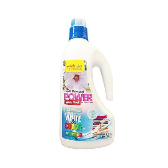 Detergent lichid de rufe Turbo Clean 1,5L White Musk