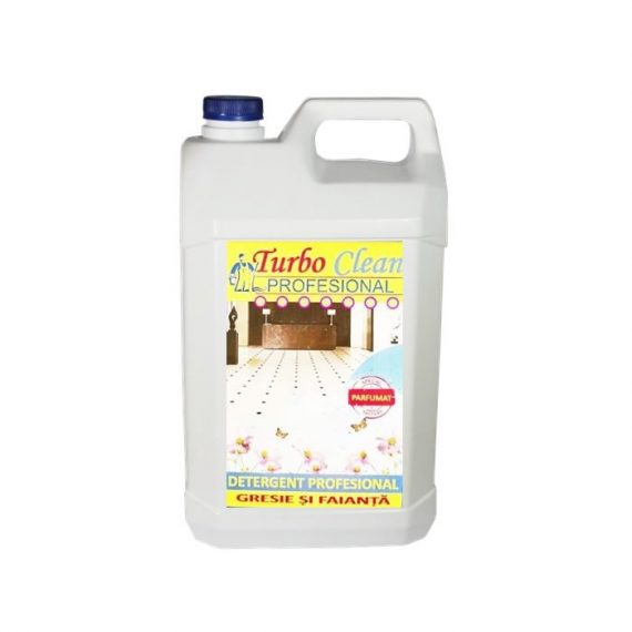 Detergent pentru gresie si faianta Turbo Clean 5L Fresh