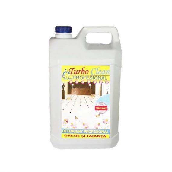 Detergent pentru gresie si faianta Turbo Clean 5L Bubble Gum