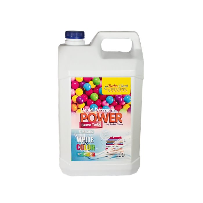 Detergent lichid de rufe Turbo Clean 5L Guma Turbo