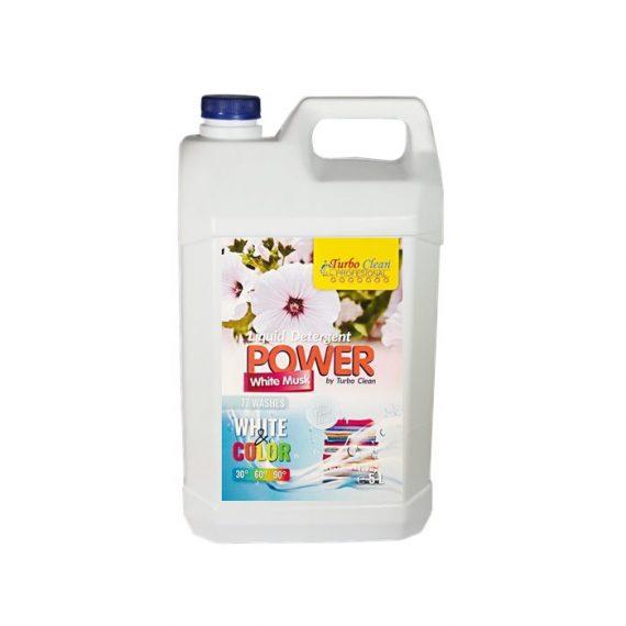 Detergent lichid de rufe Turbo Clean 5L Mosc Alb