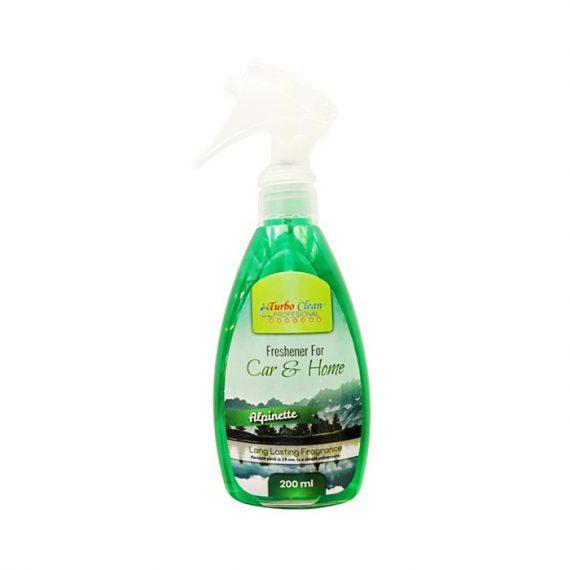 Odorizant camera si textile Turbo Clean 200 ml Alpin pe baza de alcool