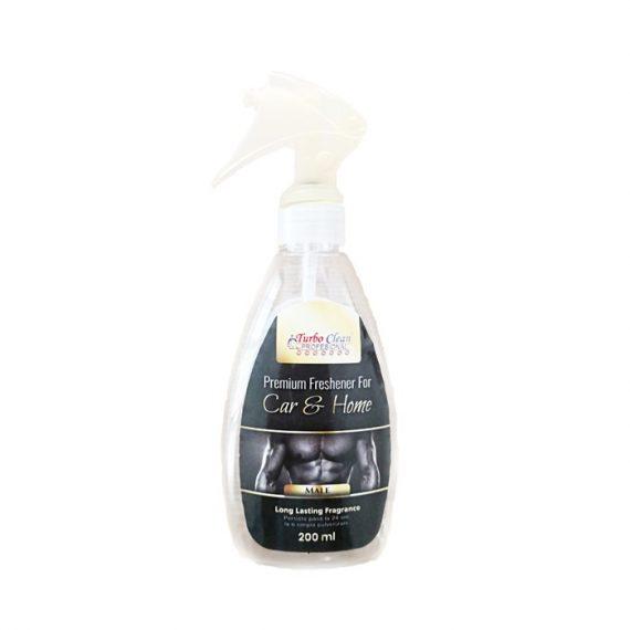 Odorizant camera si textile Turbo Clean Premium 200 ml Male pe baza de alcool