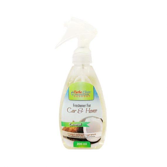 Odorizant camera si textile Turbo Clean 200 ml Nuca de Cocos pe baza de alcool