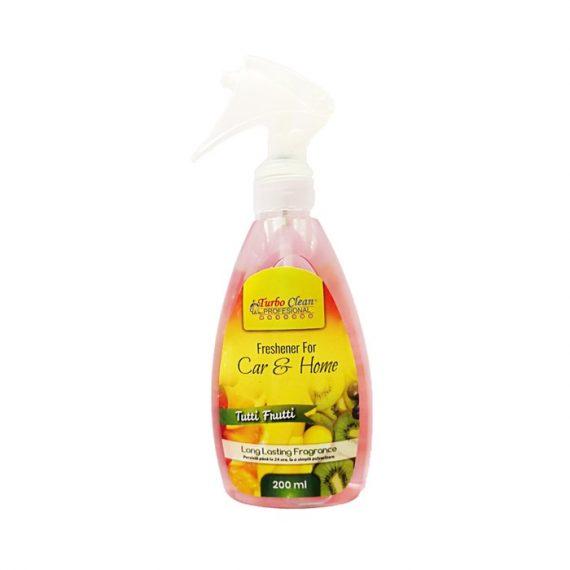 Odorizant camera si textile Turbo Clean 200 ml Tutti Frutti pe baza de alcool