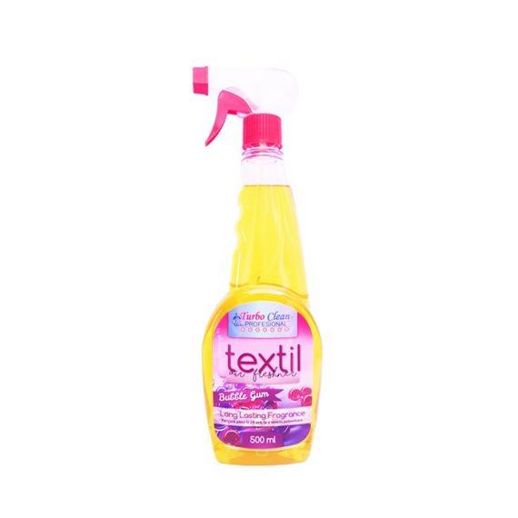 Odorizant camera si textile Turbo Clean 500 ml Bubble Gum pe baza de alcool