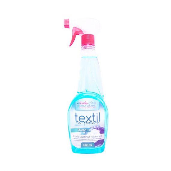 Odorizant camera si textile Turbo Clean 500 ml Ocean pe baza de alcool