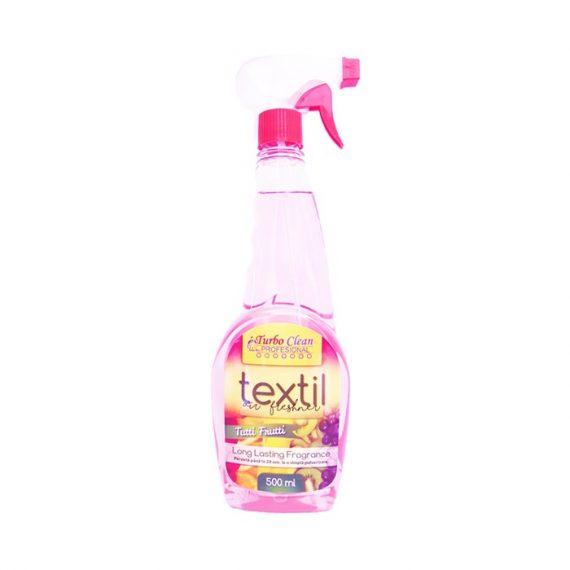 Odorizant camera si textile Turbo Clean 500 ml Tutti Frutti pe baza de alcool