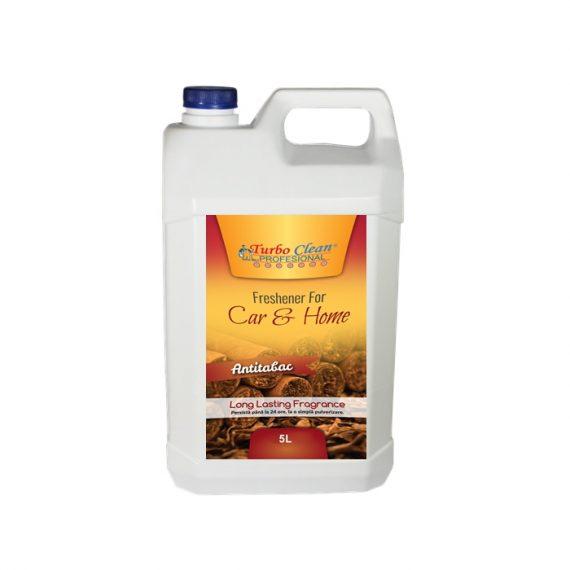 Odorizant camera si textile Turbo Clean 5L Antitabac pe baza de alcool