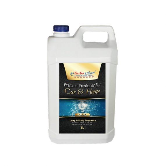 Odorizant camera si textile Turbo Clean Premium 5L Aqua pe baza de alcool