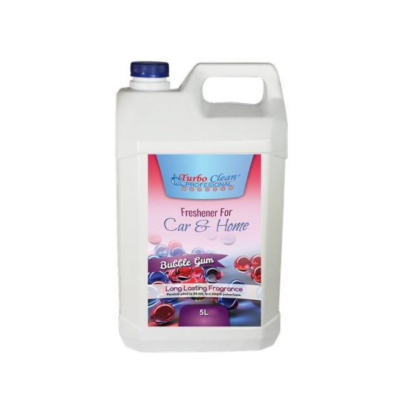 Odorizant camera si textile Turbo Clean 5L Bubble Gum pe baza de alcool
