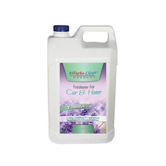 Odorizant camera si textile Turbo Clean 5L Lavanda pe baza de alcool