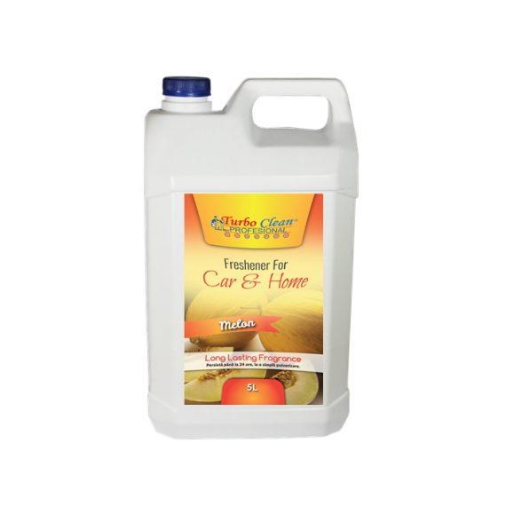 Odorizant camera si textile Turbo Clean 5L Pepene Galben pe baza de alcool