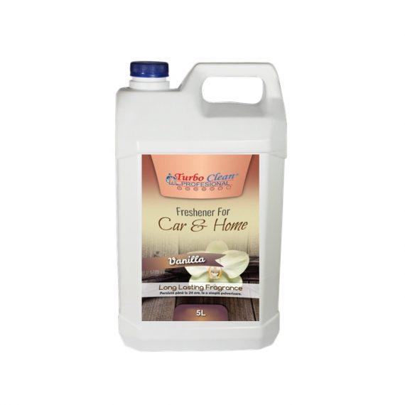 Odorizant camera si textile Turbo Clean 5L Vanilie pe baza de alcool