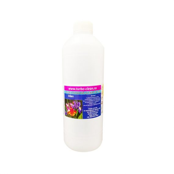 Odorizant pentru aparate profesionale Premium Turbo Clean, Alien, 500 ml, rezerva, refill dispenser