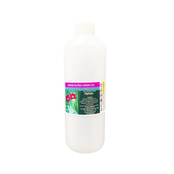 Odorizant pentru aparate profesionale Premium Turbo Clean, Opium, 500 ml, rezerva, refill dispenser