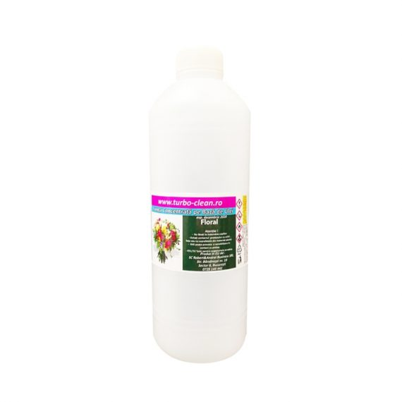 Odorizant pentru aparate profesionale Turbo Clean, Floral, 500 ml, rezerva, refill dispenser
