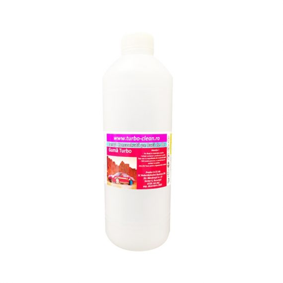 Odorizant pentru aparate profesionale Turbo Clean, Guma Turbo, 500 ml, rezerva, refill dispenser