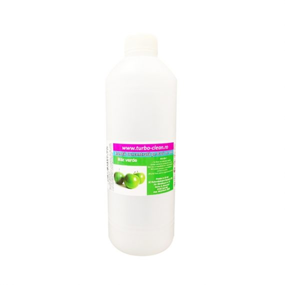 Odorizant pentru aparate profesionale Turbo Clean,Mar verde, 500 ml, rezerva, refill dispenser