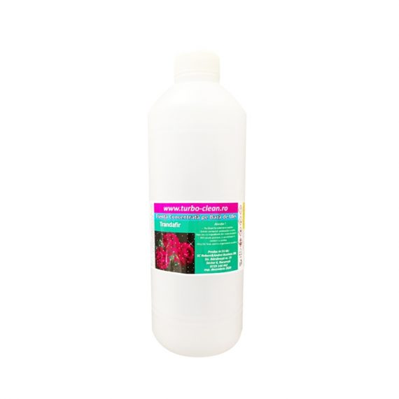 Odorizant pentru aparate profesionale Turbo Clean, Trandafir, 500 ml, rezerva, refill dispenser