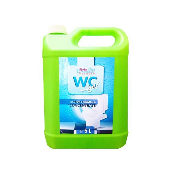Solutie curatat WC Turbo Clean Gel 5L