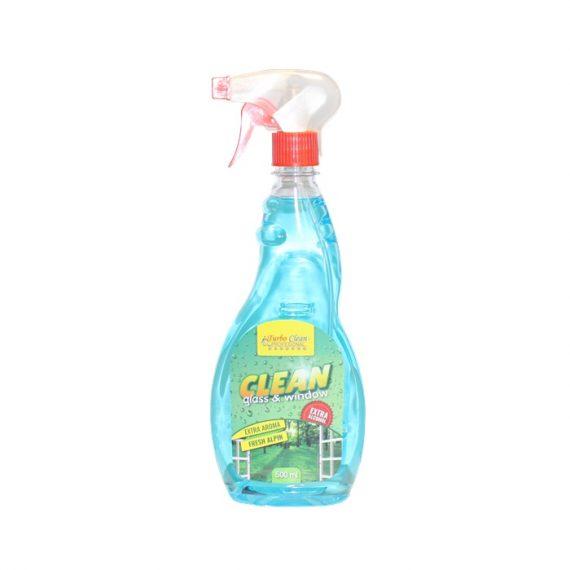 Solutie pentru curatat geamuri Turbo Clean 500 ml Fresh Pin